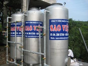 Lọc nước giếng khoan nhiễm ít sắt
