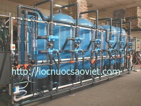 Hệ thống khử khoáng nước