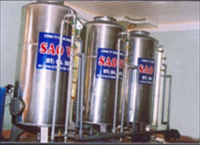 Thiết bị xử lý nước giếng khoan cs 10m3/h