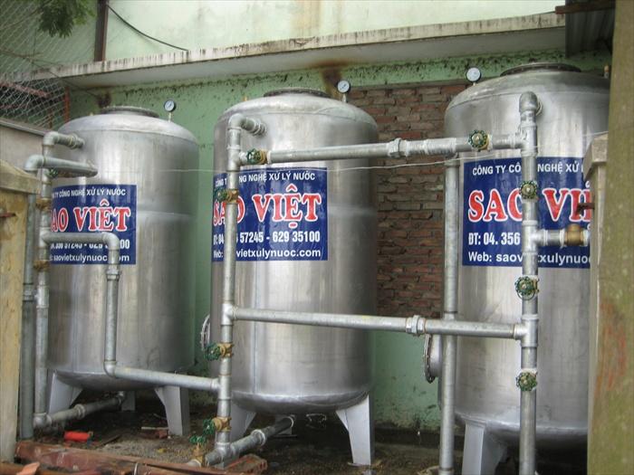 Xử lý nước giếng khoan cs 30m3/h