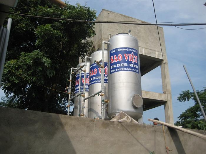 Xử lý nước giếng khoan cs 7m3/h