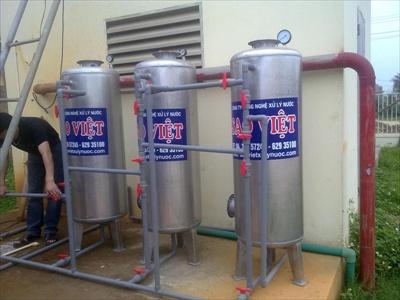 Cách khử khí H2S trong nước