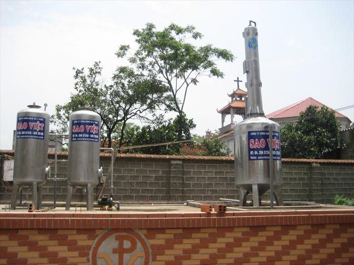 Khử trùng giếng khoan và đường ống cấp nước