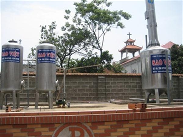 Cách xử lý nước nhiễm mangan