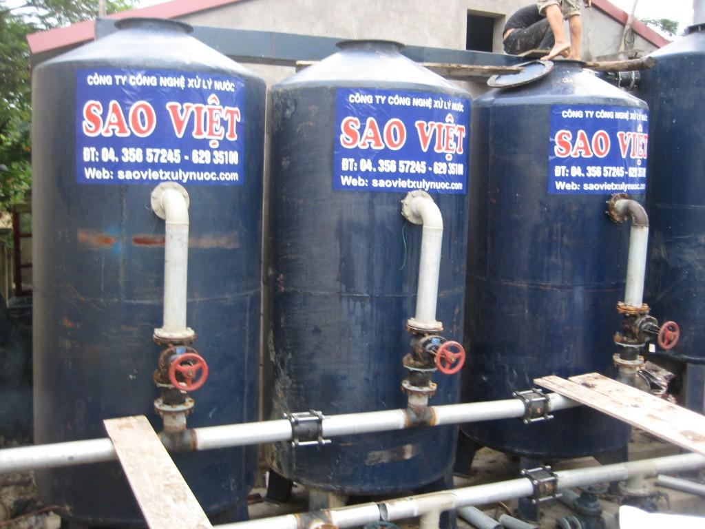 Khử trùng đường ống cấp nước