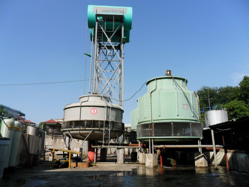 Xử lý nước cho tháp giải nhiệt