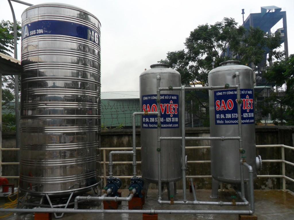Khử trùng nước bằng clo trong xử lý nước giếng khoan