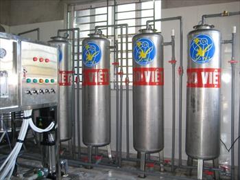 Hệ thống cấp nước cho sản xuất điện tử