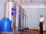 Xử lý nước giếng khoan cs 100m3/h