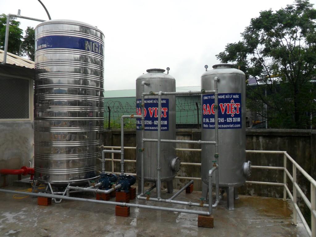 Hệ thống lọc  nước giếng khoan cs 10m3/h tại công ty CP Japfa Comfeed VN