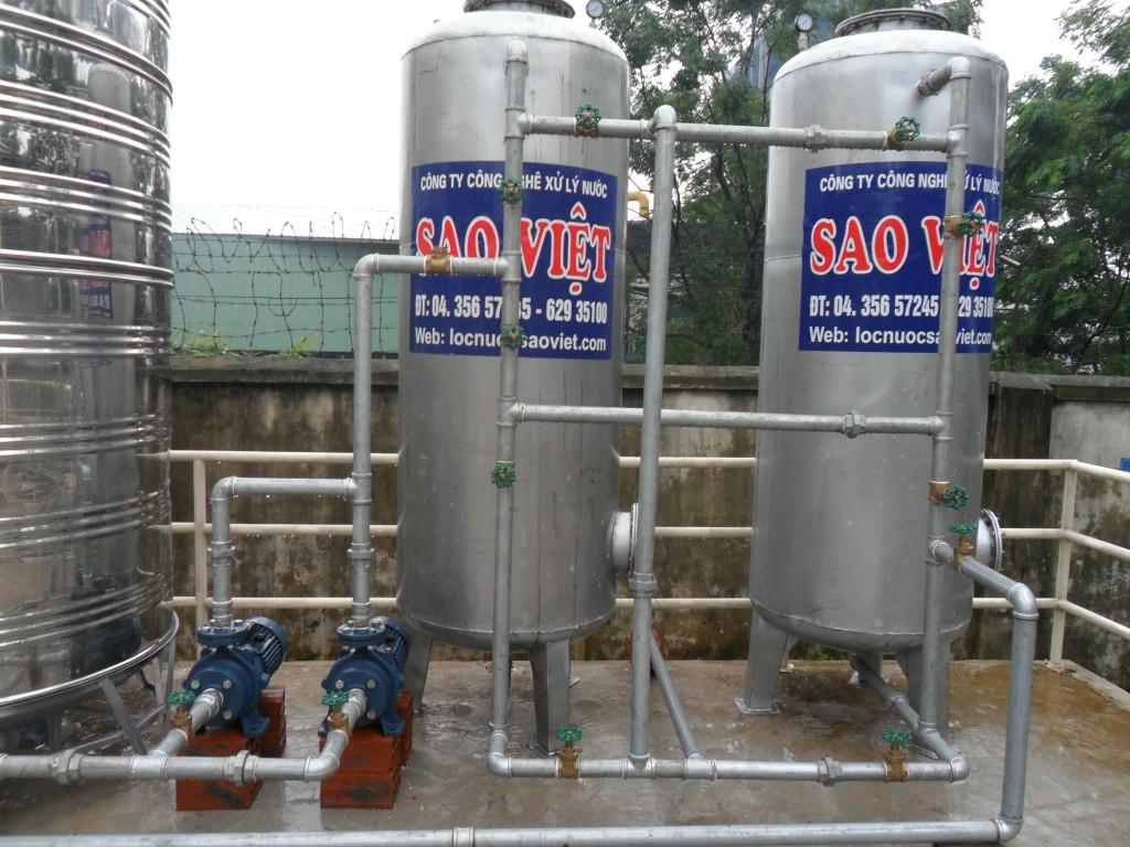 Làm sạch và khử trùng bể chứa nước