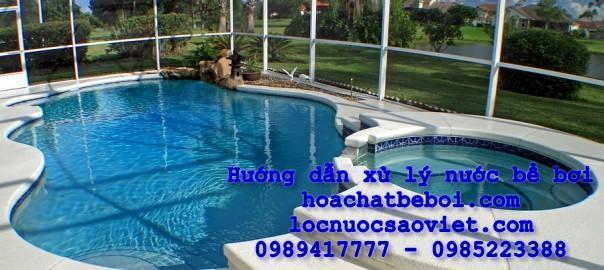 Hướng dẫn xử lý nước bể bơi mới nhất