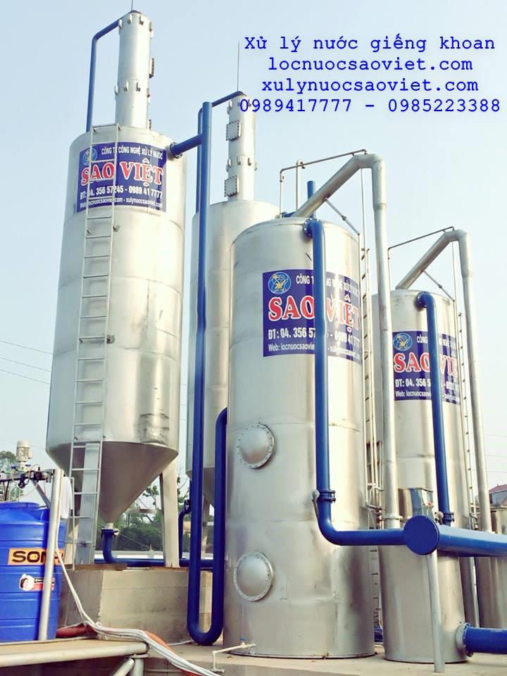 Quy trình xử lý nước giếng khoan