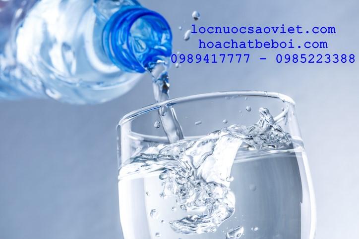 Chỉ tiêu vi sinh của nước không đạt xử lý như thế nào