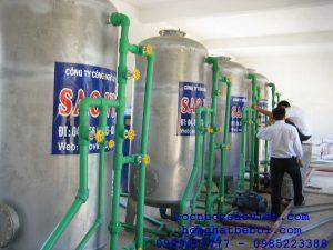 Thiết bị xử lý nước cấp nồi hơi