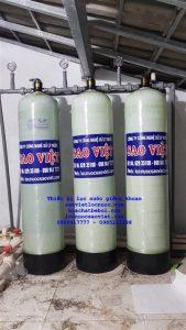 Thiết bị lọc nước giếng khoan khử sắt mangan kim loại nặng