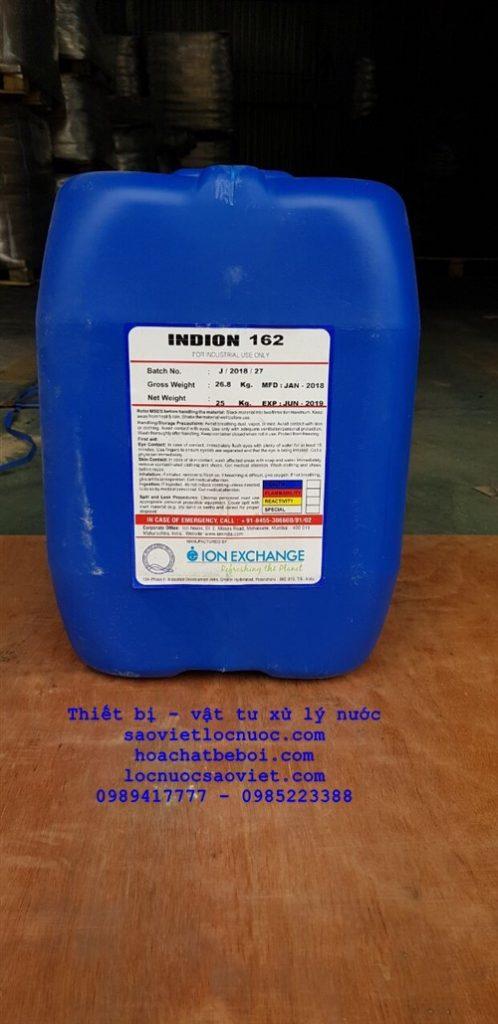Hóa chất khử oxy chống ăn mòn nồi hơi INDION 162