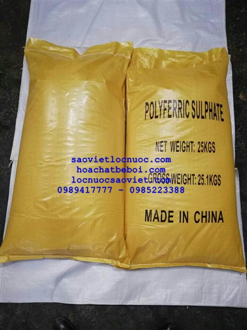 poly ferric sulfate PFS