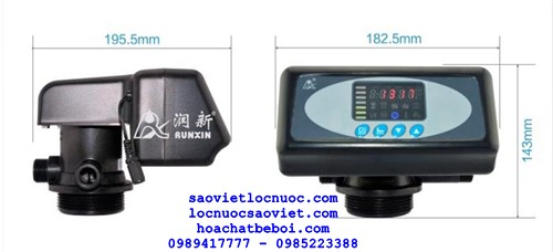 Van điều khiển tự động autovalve lọc nước theo thời gian F71B1
