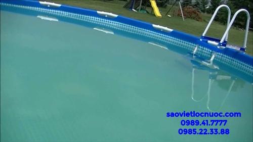 6 bước xử lý nước bể bơi bị đục KHÔNG CẦN THAY NƯỚC
